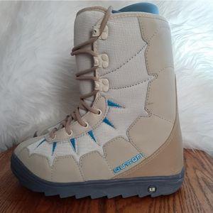 Womens Burton Moto Snowboard Boots Size 7